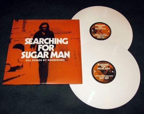 "Rare RODRIGUEZ ""SEARCHING FOR SUGARMAN"" SOUNDTRACK 2X LP WHITE VINYL Error Print"