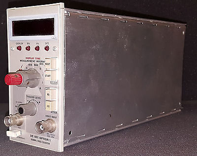 Tektronix Dc502 Option 1  550mhz Frequency Counter Plug In For Tm500 Frames