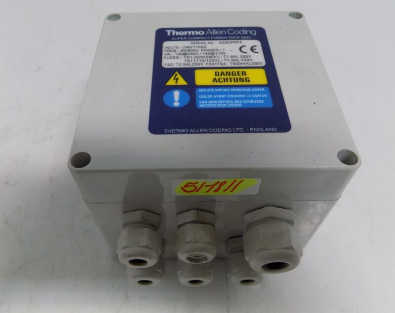 THERMO ALLEN CODING SUPER COMPACT POWER PACK 8540