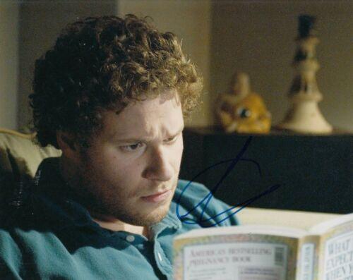SETH ROGEN signed (KNOCKED UP) Movie 8X10 photo *Ben Stone* autographed W/COA #1