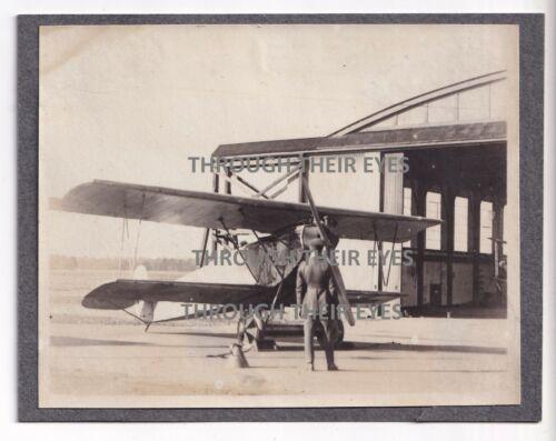 Original WW1 photo Captured German Fokker DVII at RAF Martlesham Heath c1918