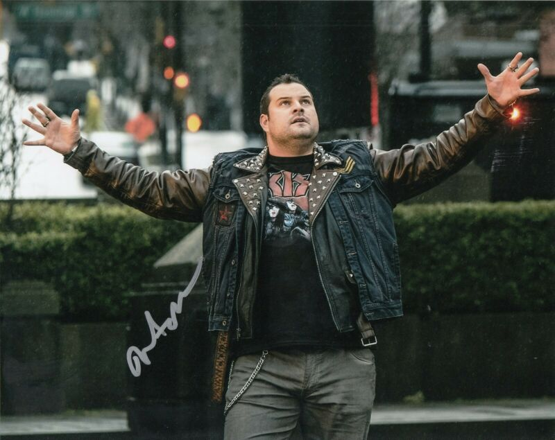 MAX ADLER signed (THE FLASH) 8X10 photo *Jaco Birch* autographed W/COA #1