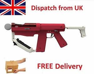 Official Sharp Shooter Gun for PS3 PS4 Playstation Move Controller Shooting Game