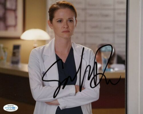 Sarah Drew Grey's Anatomy Autographed Signed 8x10 Photo ACOA  #2