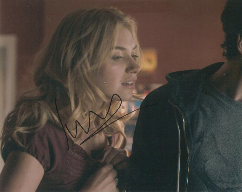 *BEAUTIFUL* IMOGEN POOTS SIGNED 8X10 PHOTO PROOF COA AUTOGRAPHED NEED FOR SPEED