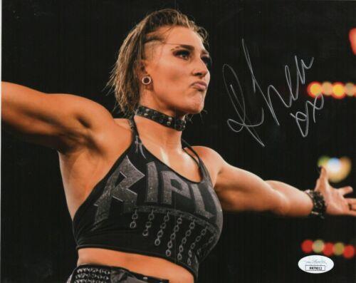 Rhea Ripley Autograph Signed 8x10 Photo - WWF WWE NXT (JSA COA)