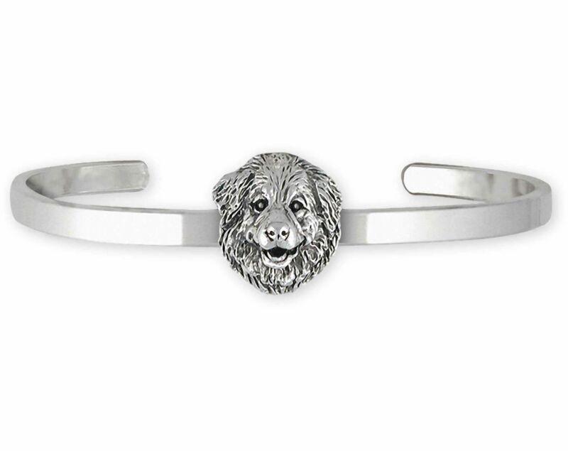 Great Pyrenees Jewelry Sterling Silver Handmade Great Pyrenees Bracelet  GPR31X-