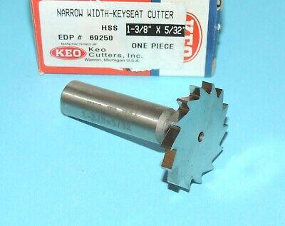 Keo 1-38 X 532 Hss Rh Narrow Width Keyseat Cutter 69250 Made In Usa