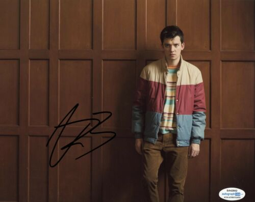 Asa Butterfield Sex Education Autographed Signed 8x10 Photo ACOA  #2