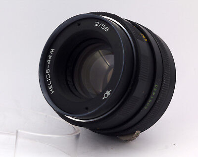 Best condition! HELIOS 44m M42 S/n 5051443 58mm f/2 Lens for Zenit Canon