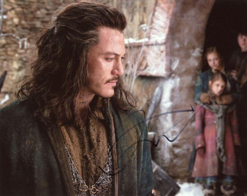 """Luke Evans """"The Hobbit"""" AUTOGRAPH Signed 8x10 Photo H"""