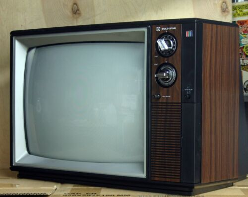 "1981 GOLDSTAR 16"" color TELEVISION works great SUPER CLEAN ex+"