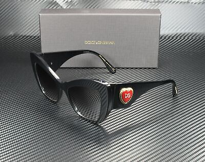 Dolce & Gabbana DG4349 501/8G BLACK GREY GRADIENT 54 mm Women's Sunglasses