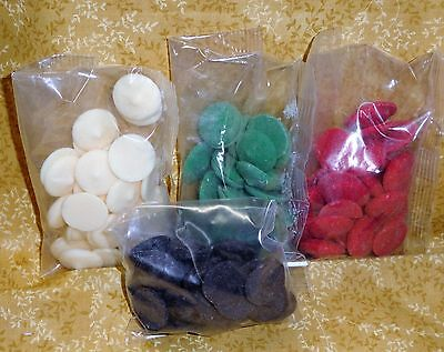Candy Melts Melting Candy Coating,Wilton, 3 oz. bag,Chocolate,Multi-Color,Edible](Color Candy)