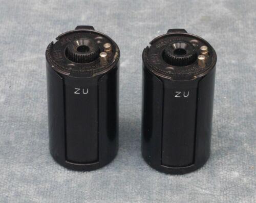 2X ZEISS IKON 540/01 METAL RELOADABLE 35MM FILM CASSETTES - $27.99 SHIPPED (#1)