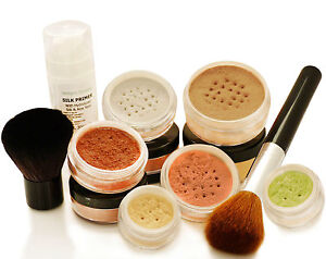 Mineral-Makeup-Foundation-LUXURY-SET-9-piece-Bare-Natural-Flawless-Coverage-NEW