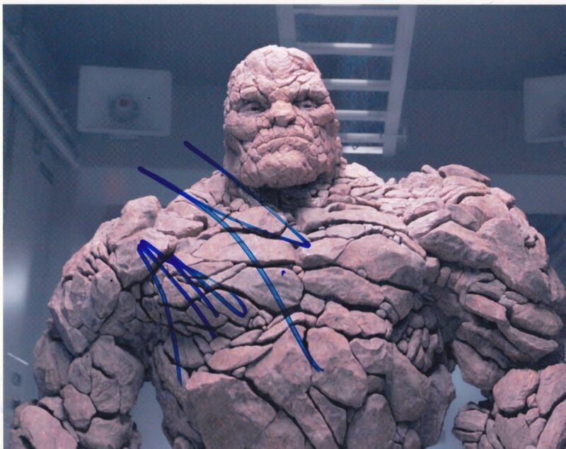 JAMIE BELL SIGNED 8X10 PHOTO AUTHENTIC AUTOGRAPH FANTASTIC FOUR THE THING COA A