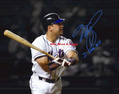 New York Mets Mike Piazza Autographed Signed 8x10 Photo Reprint