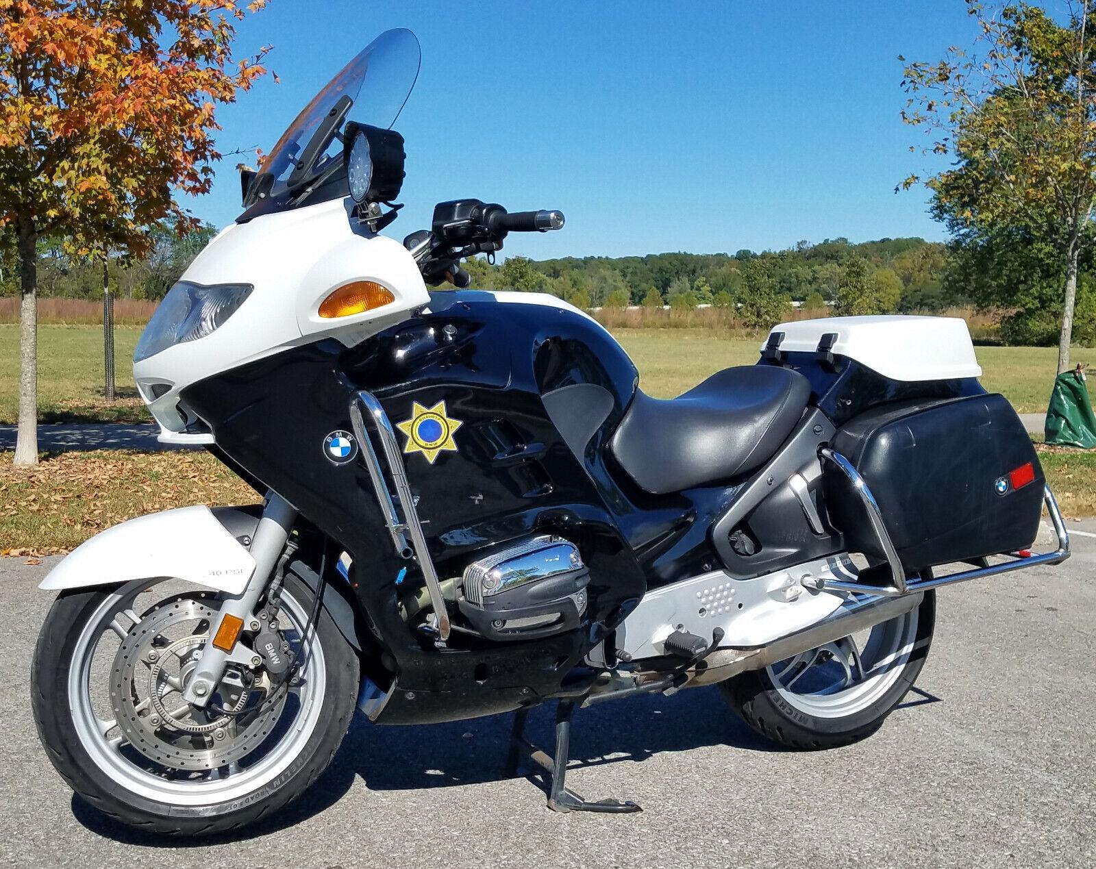 2002 BMW R1150RTP Police Bike 43,725 Miles & in Nice Shape