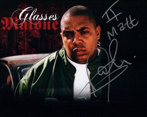 Glasses Malone Signed Autographed 8x10 Photo Hip-Hop Rapper COA VD