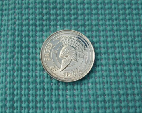 1973 Krewe of SPARTA  .999 FINE SILVER Mardi Gras doubloon