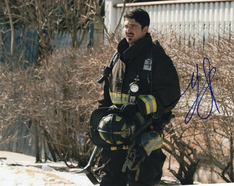 Yuri Sardarov signed 8x10 Photo w/COA Chicago Fire Med P.D. Brian Svonecek #4