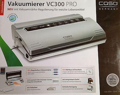 Caso VC300 Vakuumierer Vakuumiergerät Folienschweißgerät inkl. Folienbox