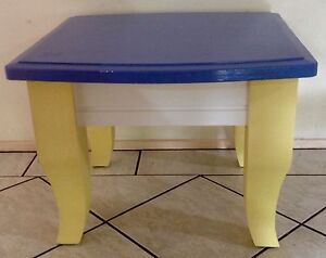 Child's table solid timber Appin Wollondilly Area Preview