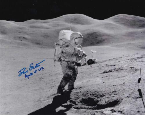 Dave Scott Autographed Signed 8x10 Photo ( Apollo 15 ) REPRINT