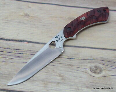 BUCK 538 OPEN SEASON® SMALL GAME FIXED BLADE HUNTING KNIFE MADE IN USA