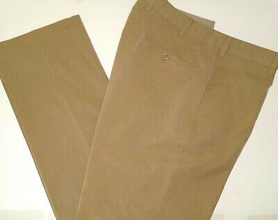 INCOTEX Indochino Flat Front Cotton Pant-34 x 32