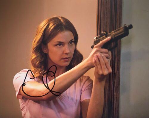 Emily VanCamp signed 10x8 Image B photo UACC AFTAL Registered dealer COA