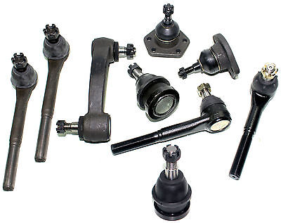 NEW REPAIR KIT SUSPENSION BALL JOINTS TIE RODS IDLER ARM STEERING CHEVY G10 G20