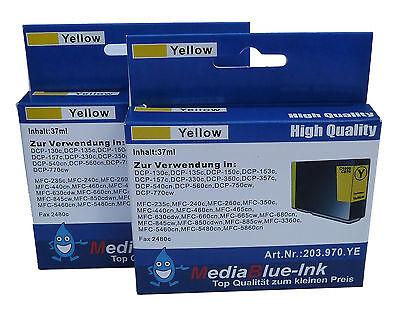 Ml Gelb Tintenpatrone (Tintenpatrone kompatibel zu LC-1000Y gelb 37 ml)