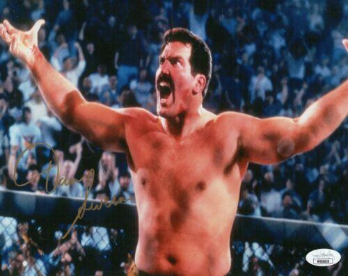 Dan Severn Autograph Signed 8x10 Photo - WWF WWE UFC MMA (JSA COA)