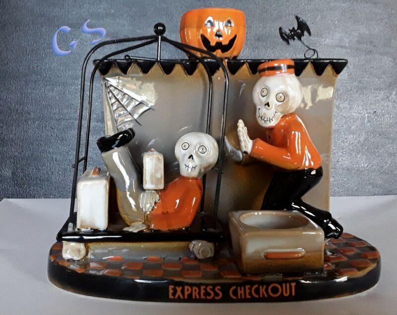 Yankee Candle Boney Bunch EXPRESS CHECKOUT DBL Tea Light Holder New Halloween