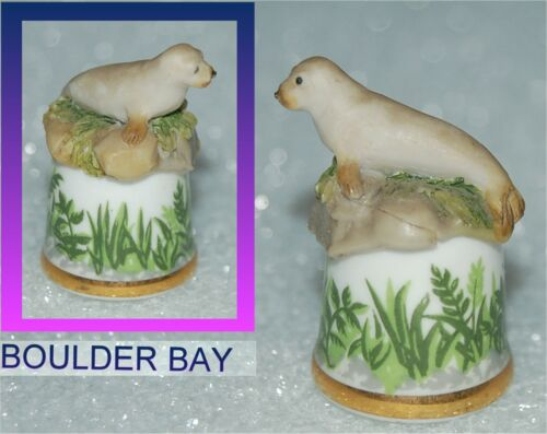 THIMBLE GUILD, SCOTLAND DIRECT - HARP SEAL with GREENS AROUND THE BAND