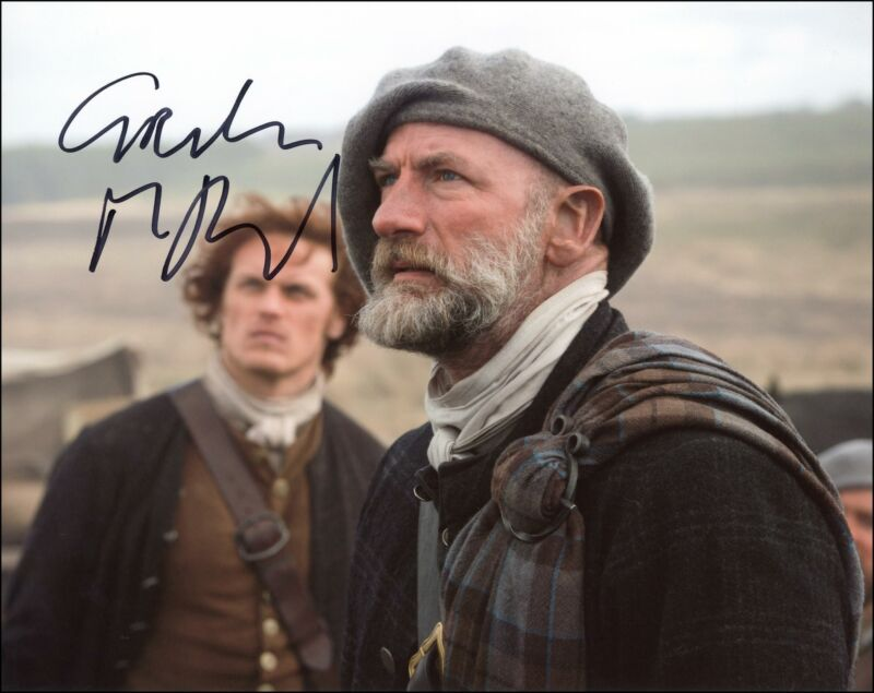 """Graham McTavish """"Outlander"""" AUTOGRAPH Signed 'Dougal MacKenzie' 8x10 Photo ACOA"""