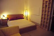 Spacious double room with direct access to garden. 1 min to Mile End zone 2 tube. Suitable couples!