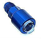 """Redhorse 880-06-05-1 EFI -6 Male to 5/16"""" Hardline Fuel fitting LT1 LT4 LS1 Blue"""