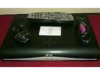 Digital sky hd box complete with remote control and cables