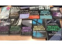 Michael Connelly x 11 books