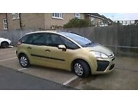 citroen picasso c4 diesel 1.6 new turbo clutch aircon,,loads spent on it £1095