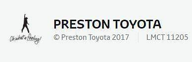 Preston Toyota - AHG