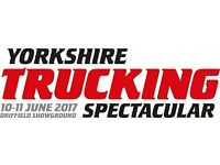 Programme Sellers needed for Yorkshire Trucking Spectacular, 10th & 11th June
