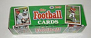1991 Topps NFL Football Cards Unopened Factory Set