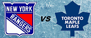 Maple Leafs vs New York Rangers....January 19th!....2 Tickets!