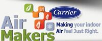 Carrier & Lennox Furnaces & Air Conditioners