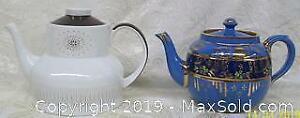 Vintage Ceramic English Tea Pot Pair