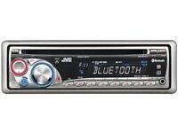JVC KD-BT11 Bluetooth, Hands free CD Player, Head Unit